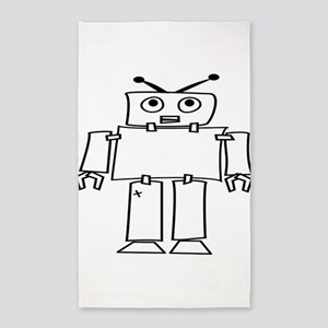 Robot Area Rug