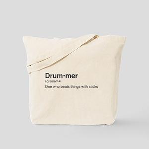 Drummer Definition Tote Bag