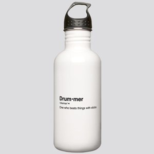 Drummer Definition Stainless Water Bottle 1.0L