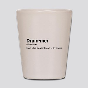 Drummer Definition Shot Glass