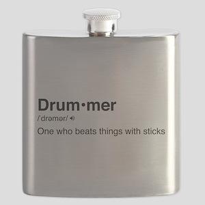 Drummer Definition Flask