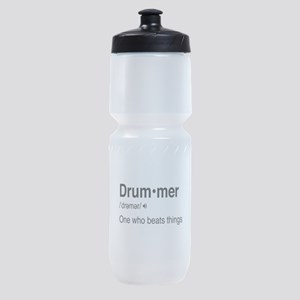 Drummer Definition Sports Bottle