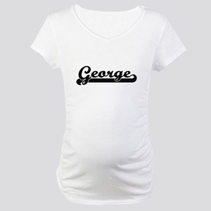 George surname classic retro des Maternity T-Shirt
