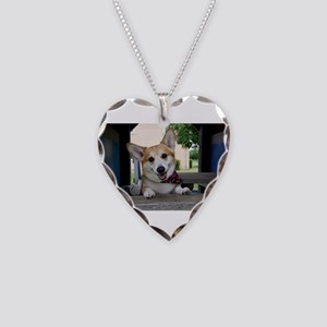 I'm here to make your day bet Necklace Heart Charm