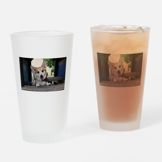 I'm here to make your day better ? Drinking Glass