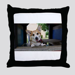 I'm here to make your day better ? Throw Pillow