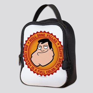 American Dad Well Done Neoprene Lunch Bag