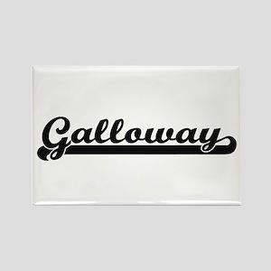Galloway surname classic retro design Magnets