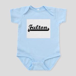Fulton surname classic retro design Body Suit