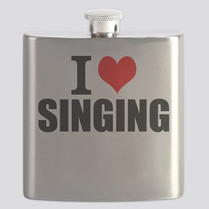 I Love Singing Flask