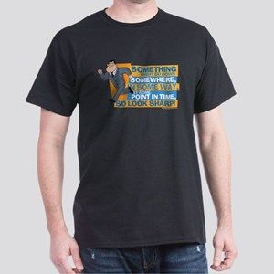 American Dad Look Sharp Dark T-Shirt