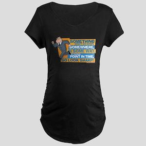 American Dad Look Sharp Maternity Dark T-Shirt