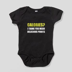 Calories Delicious Points Baby Bodysuit