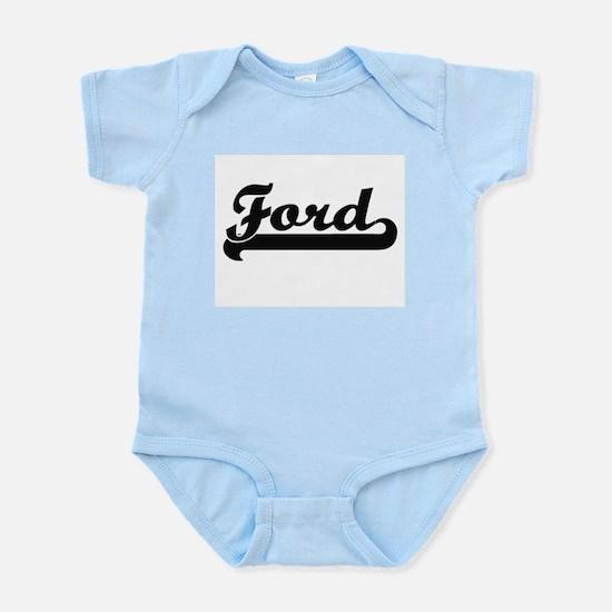 Ford surname classic retro design Body Suit