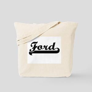 Ford surname classic retro design Tote Bag