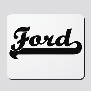 Ford surname classic retro design Mousepad