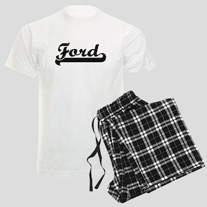 Ford surname classic retro de Men's Light Pajamas