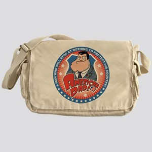 American Dad Stan Protects Messenger Bag