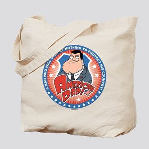American Dad Stan Protects Tote Bag