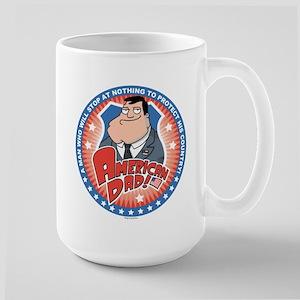 American Dad Stan Protects Large Mug
