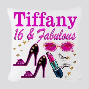 16 AND FABULOUS Woven Throw Pillow