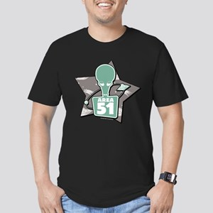 American Dad Area 51 Men's Fitted T-Shirt (dark)