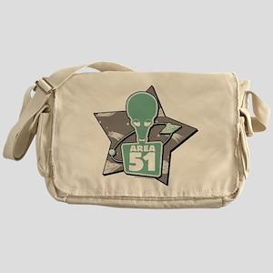 American Dad Area 51 Messenger Bag