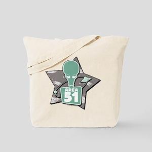 American Dad Area 51 Tote Bag