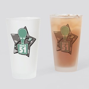 American Dad Area 51 Drinking Glass