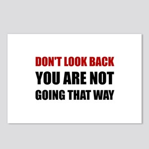 Do Not Look Back Postcards (Package of 8)