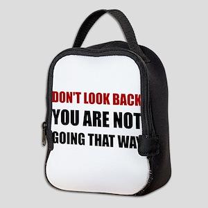 Do Not Look Back Neoprene Lunch Bag