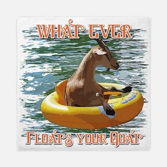 What Ever Floats your Goat Queen Duvet