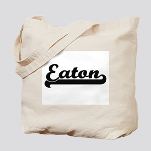 Eaton surname classic retro design Tote Bag