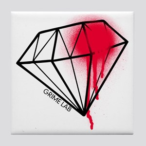 Dead Diamond Tile Coaster