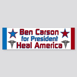 Heal America Sticker (Bumper)