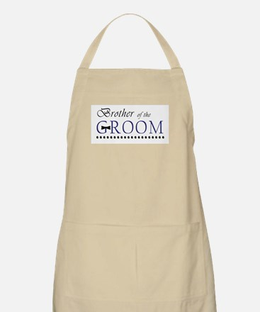 Brother of the Groom BBQ Apron