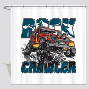 Rock Crawler 4x4 Shower Curtain