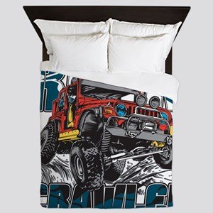 Rock Crawler 4x4 Queen Duvet