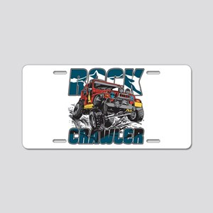 Rock Crawler 4x4 Aluminum License Plate