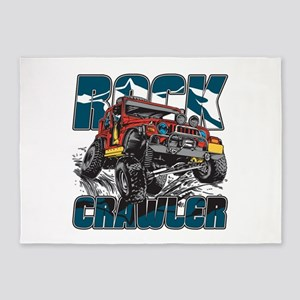 Rock Crawler 4x4 5'x7'Area Rug