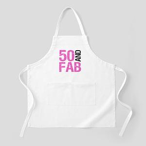 Fabulous 50th Birthday Apron