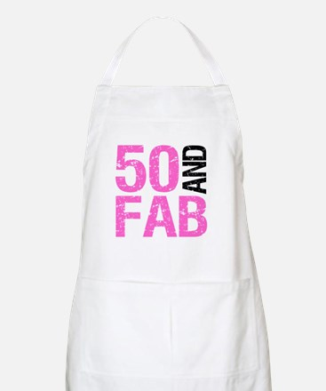 Fabulous 50th Birthday Apron