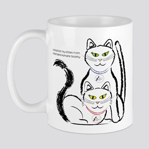 I adopted my kitties from Hea Mug