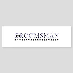 Groomsman Bumper Sticker