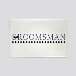 Groomsman Rectangle Magnet