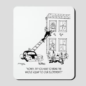 Police Cartoon 5798 Mousepad