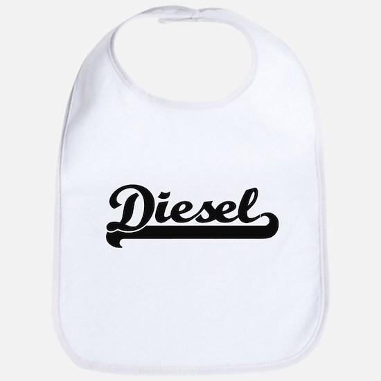Diesel surname classic retro design Bib