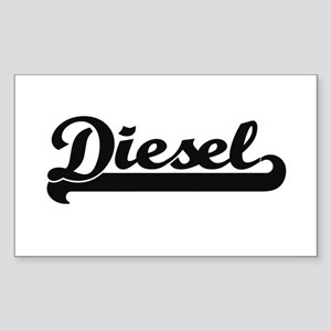 Diesel surname classic retro design Sticker