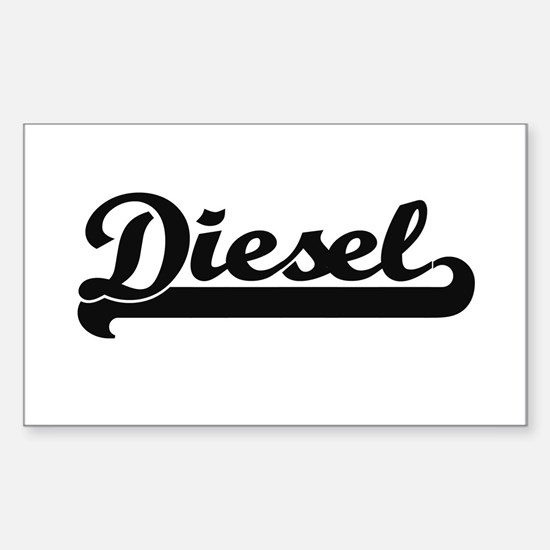 Diesel surname classic retro design Decal