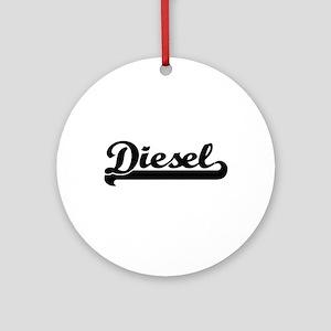 Diesel surname classic retro desi Ornament (Round)